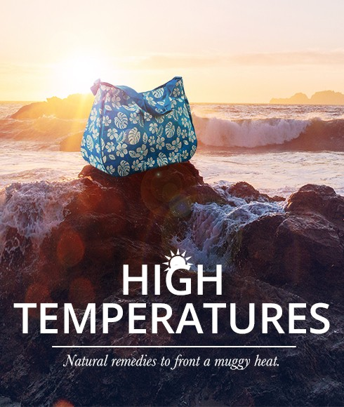 High temperatures: natural remedies to front a muggy heat