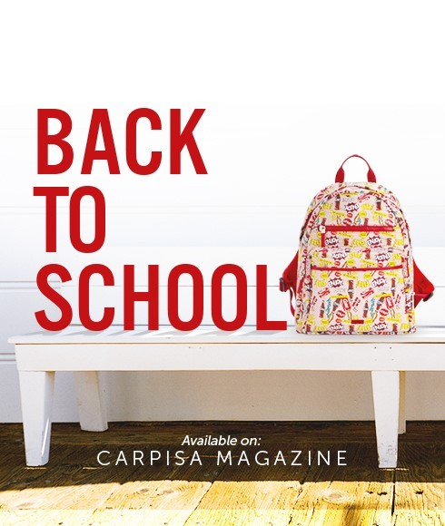 Back to school: a sparkling return to studying with the special Carpisa Coca-Cola collection!