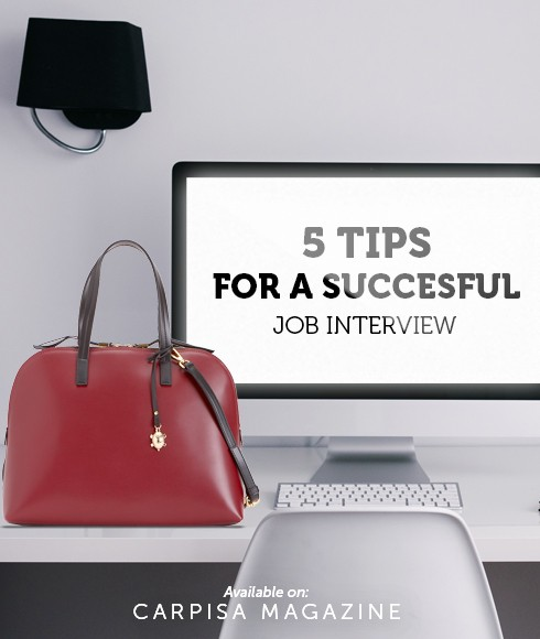 5 tips for a successfull job interview